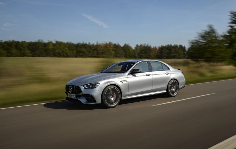 Picture 5 - Mercedes-AMG E 63 S 4MATIC+ Sedan, high-tech silver